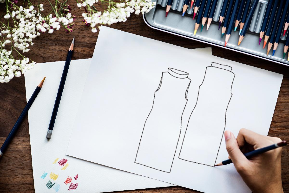 Fashion Flat Sketches Basics