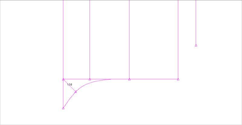 Front rise curve