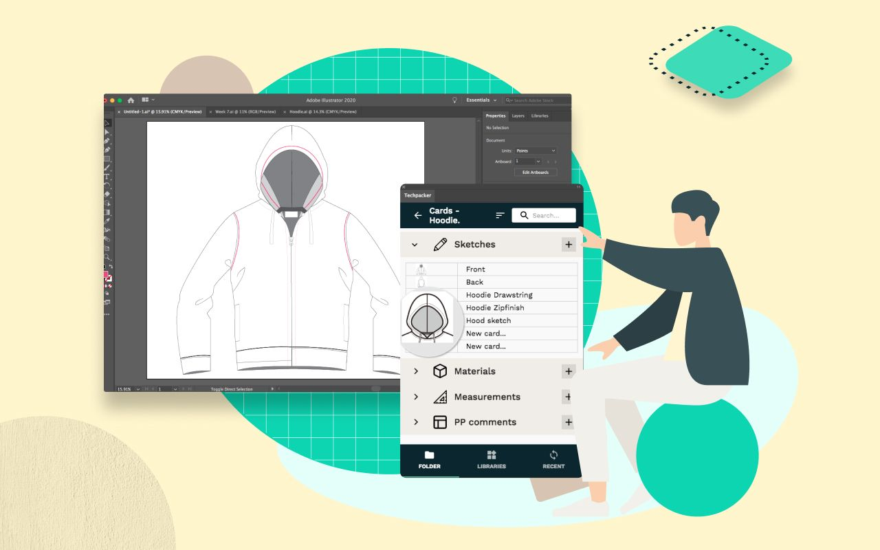 August Product Updates: New  Techpacker extension for Adobe Illustrator is here